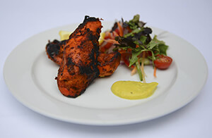 Delicious food at Ballingdon Valley Indian Restaurant